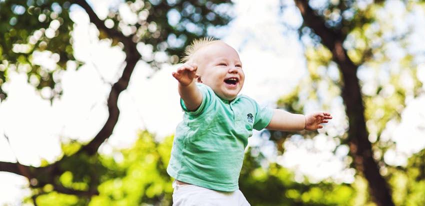 Uma pequena lista de coisas que me fazem bem - risada de bebê